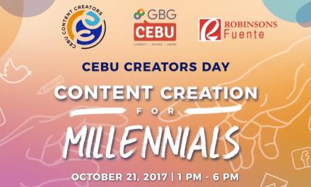 Cebu Creators Day: Nganong Angay Kang Moadto