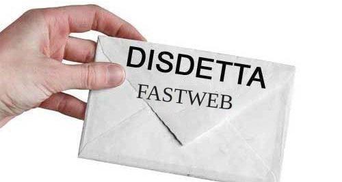 disdetta fastweb