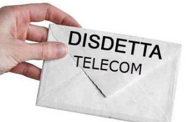 Disdetta Telecom 2018: la Guida Definitiva con Moduli, Indirizzo, Costi e Penali