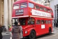 Un grande classico a Londra: il bus a due piani