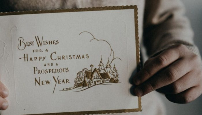 Weihnachtskarten drucken