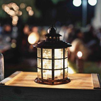 Windlicht gestalten - Ein kleines Licht in der Dunkelheit