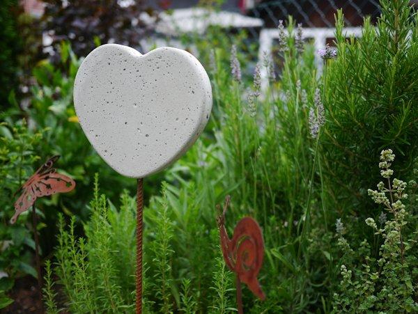 Sommerdeko aus Beton fr den Garten  Basteln und Dekorieren
