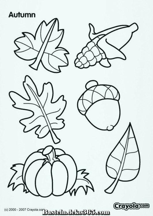 Malvorlagen Herbst