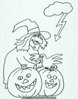 Kostenlose Ausmalbilder und Malvorlagen Halloween zum ...