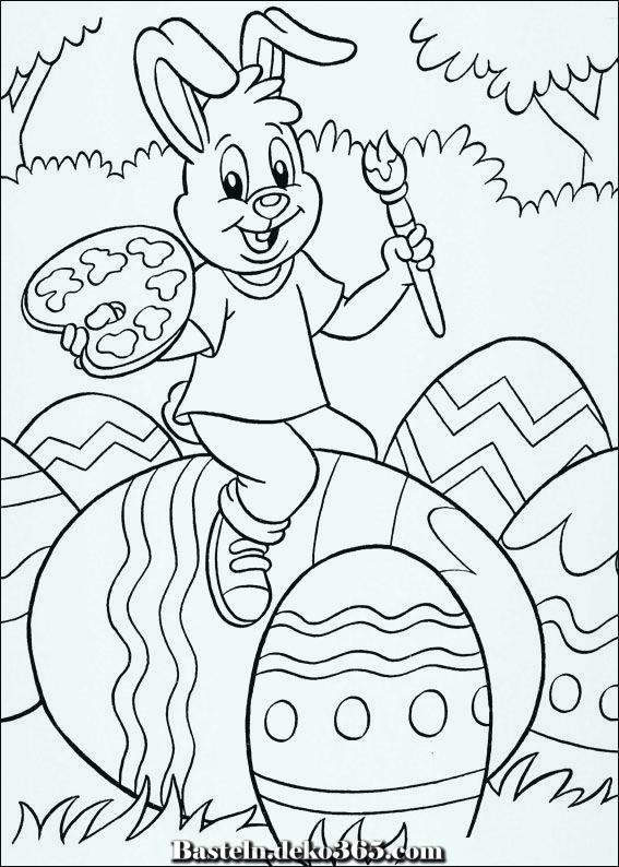 Malvorlagen Ostern - Basteln mit Kids