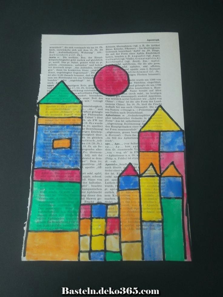 Paul Klee Projekt - Basteln mit Kids