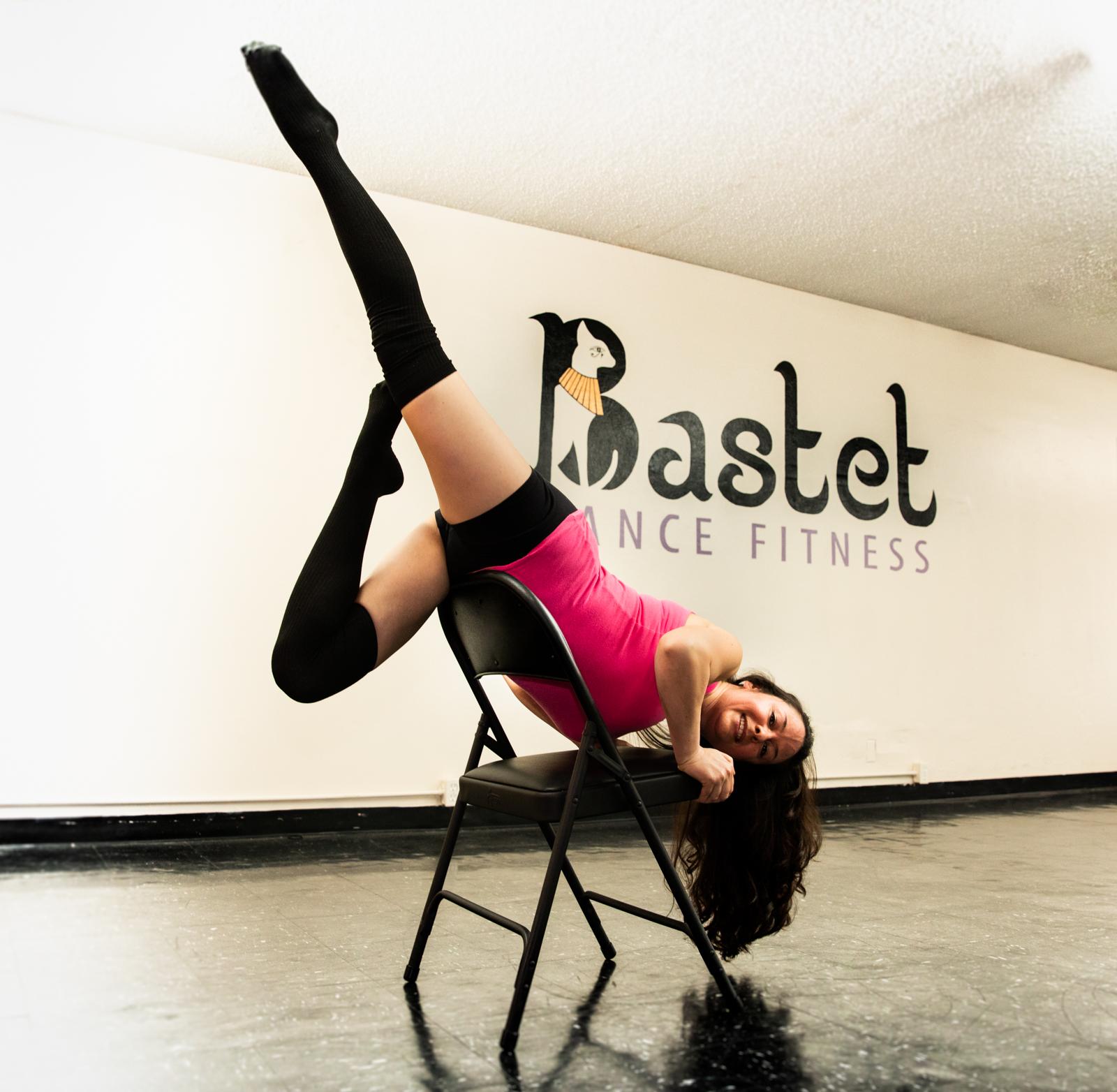 on chair dance pier 1 swing specialty class 7 8 bastet fitness