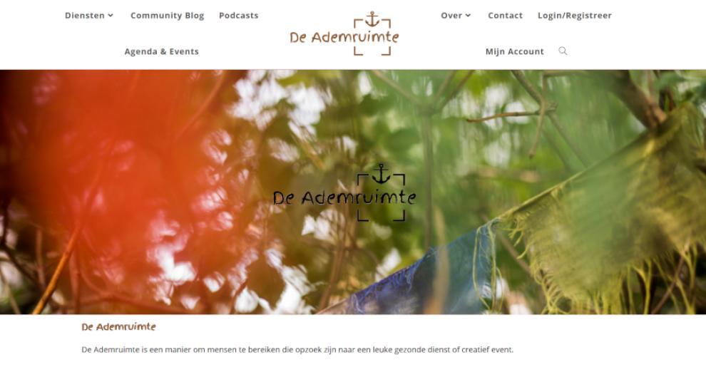 Screenshot of De ademruimte