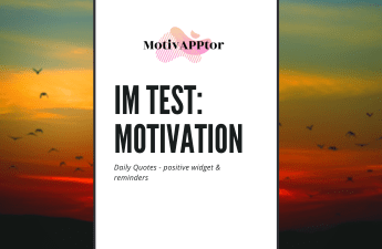 Im Test: Motivation - Daily Quotes
