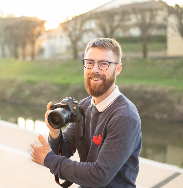 Portrait Bastien Ducasse Photographe Mont de Marsan 40