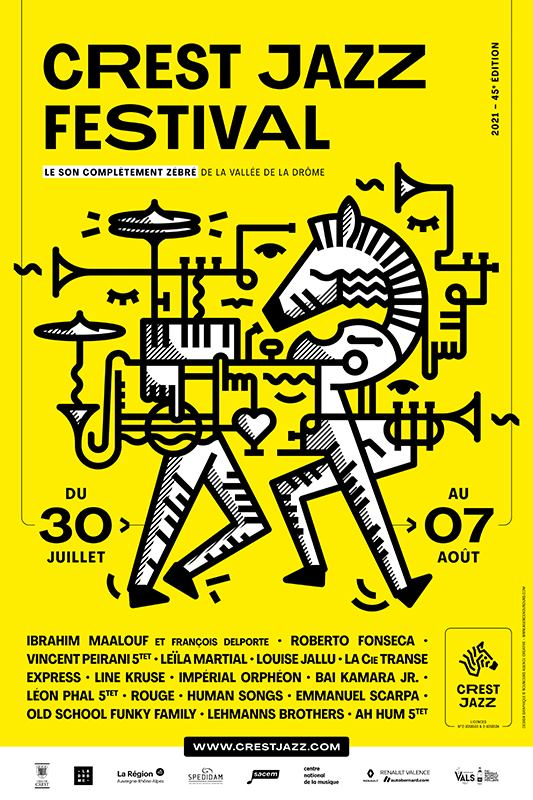 Affiche du Crest Jazz Festival