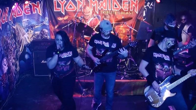Lyon Maiden soutient le Rock'n Eat (et nous aussi)!