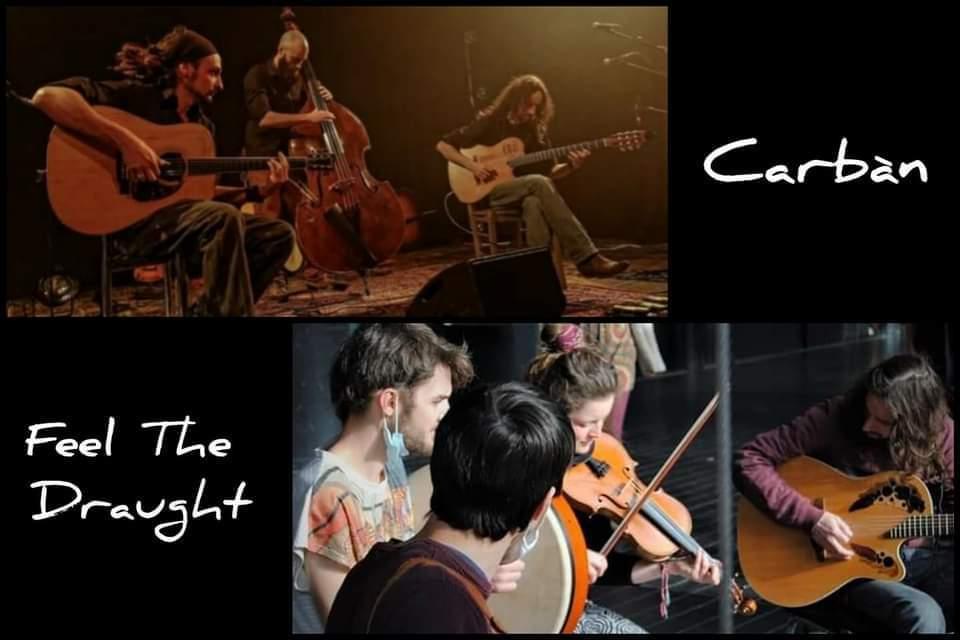 Carbàn (manouche) + Feel the Draught (Irish) aux Valseuses