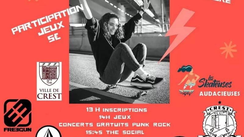 Girls' Skate Partyà Crest !
