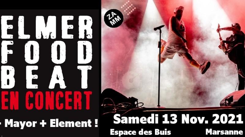 Elmer Food Beat en concert à Marsanne !