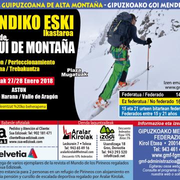 Curso Esqui Montaña