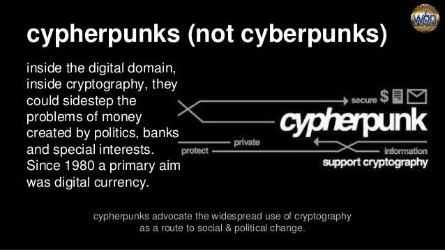 A Cypherpunk's Manifesto