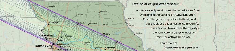 2017 Total Solar Eclipse - Missouri Header