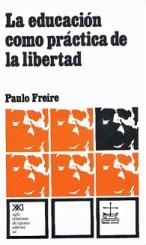 """Portada de """"La Educación como práctica de la libertad"""""""