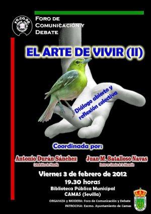 2012 CARTEL ARTE DE VIVIR