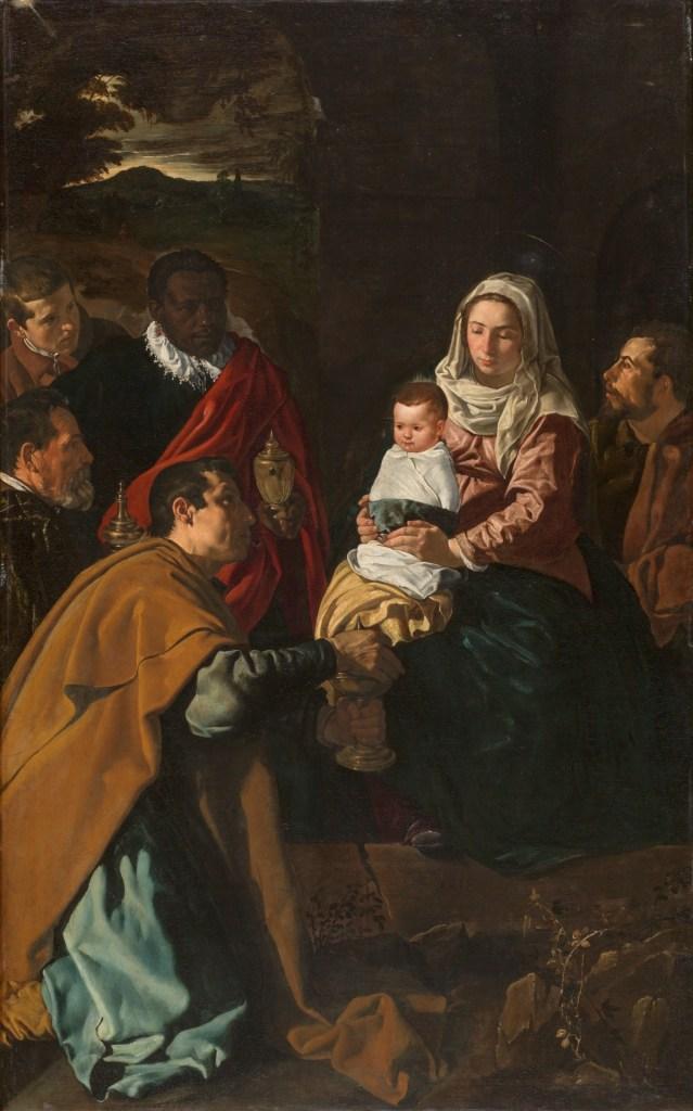 Adoración de los Reyes Magos de Velázquez