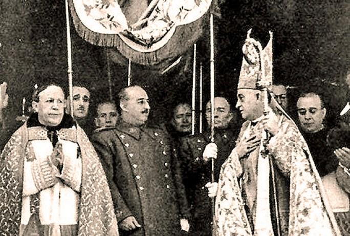Iglesia y franquismo