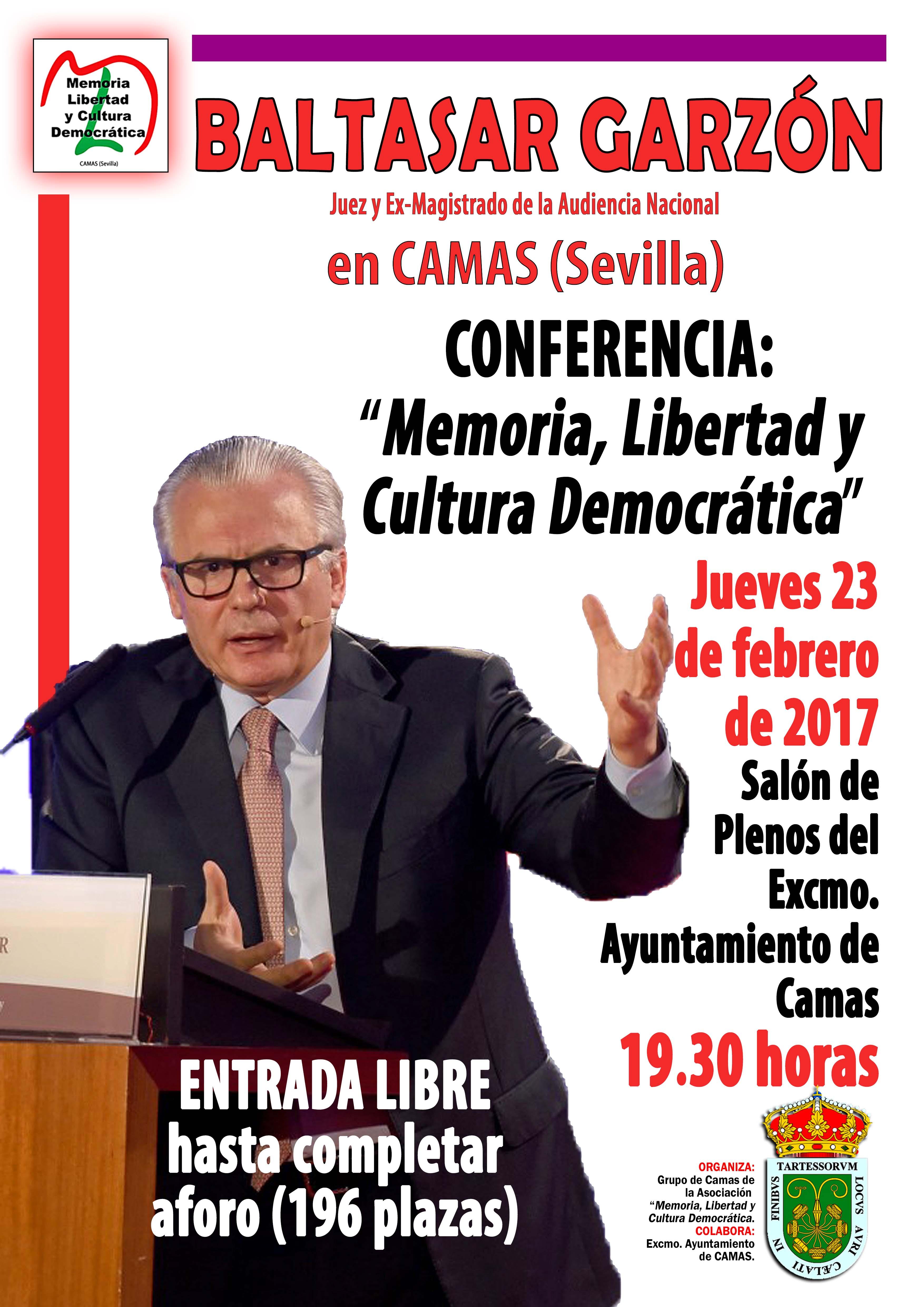 Conferencia Baltasar Garzón. 23.02.2017