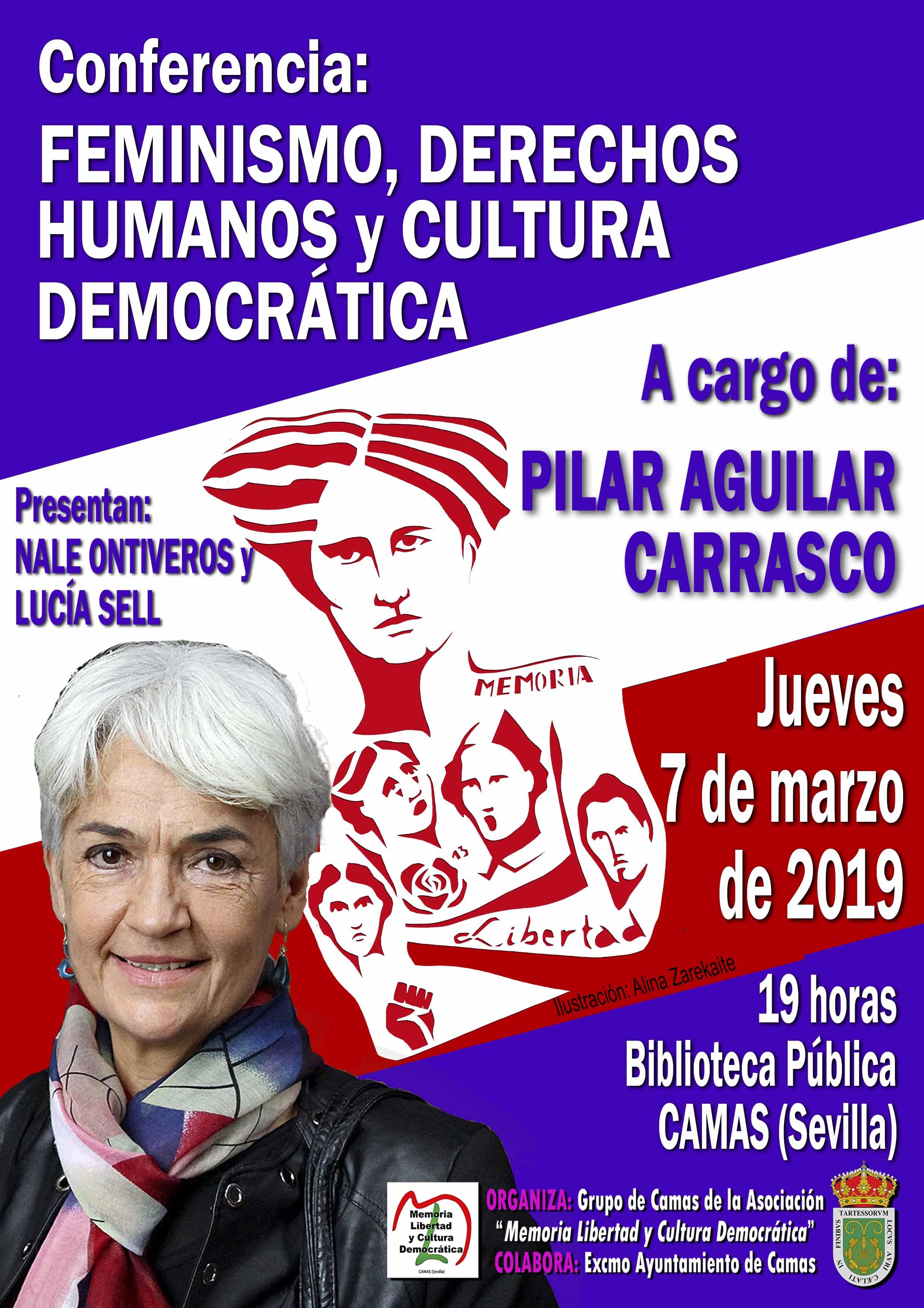 Conferencia Pilar Aguilar Carrasco. 7.03.2019