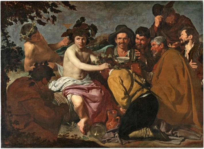 El triunfo de Baco de D. Velázquez