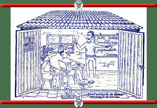 Cartel-Logo de la Escuela de Cultura Popular