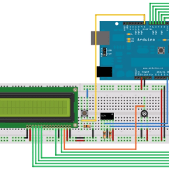 3 Wire Circle Diagram Powerpoint Template Sensor Dht11 Dengan Lcd | Batam Elektronika