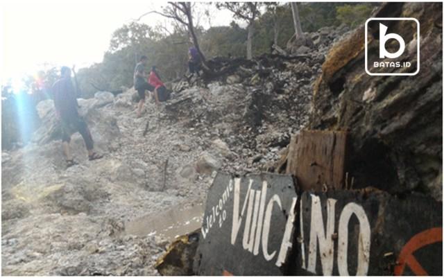 Jaboi Volcano, Foto : Iin Soes/batas.id