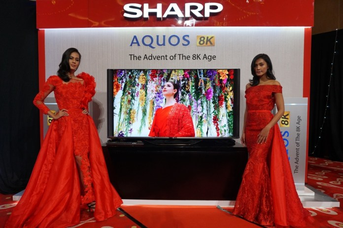 Sharp Raih Pangsa Pasar Televisi Terbesar di Indonesia