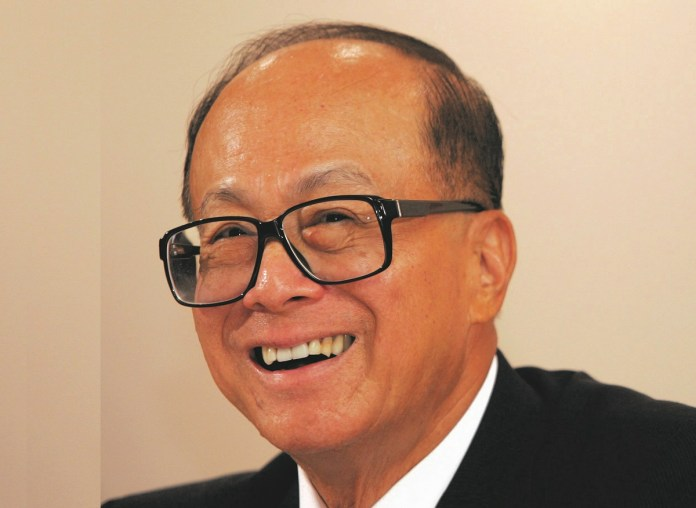 Petuah Miliuner Hong Kong, Li Ka-shing