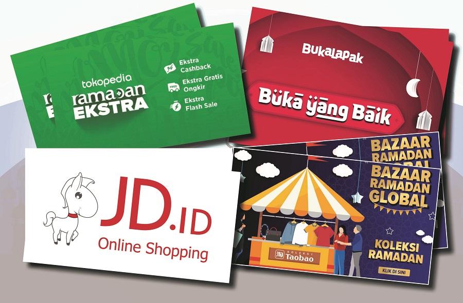 Ramadhan Bulan Gempita E Commerce Indonesia Batas Media
