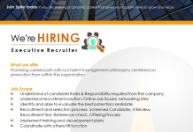 Spire Research and Consulting Hiring a Executive Recruiter