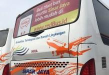 RedBus Permudah Pembelian Tiket Bus Sinar Jaya