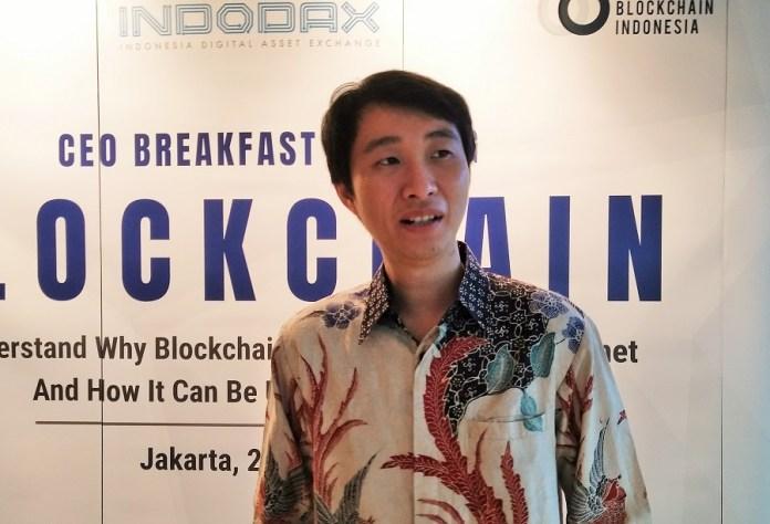 Purjono Agus Suhendro Berbincang dengan CEO Indodax Oscar Darmawan