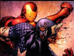 Dois heróis em posições antagônicas