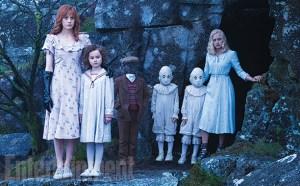 Um grupo de crianças muito estranhas