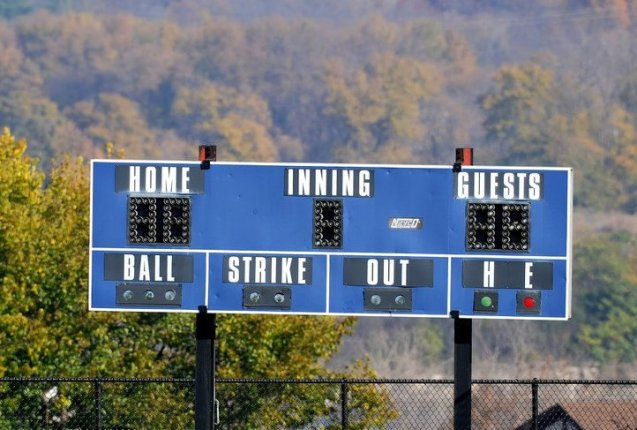 Monday's Section V Baseball Tournament Scoreboard (05/21/2018)