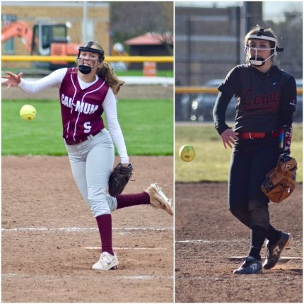 Section V Softball Tournament: C-M's Rubinrott, & LR's Papp hurl no-hitters on opening night