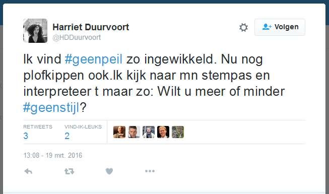Harriet Duurvoort Plofkippen