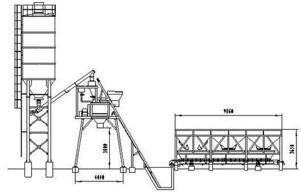 HZS180 Concrete Batching Plant,HZS180 Concrete Batching
