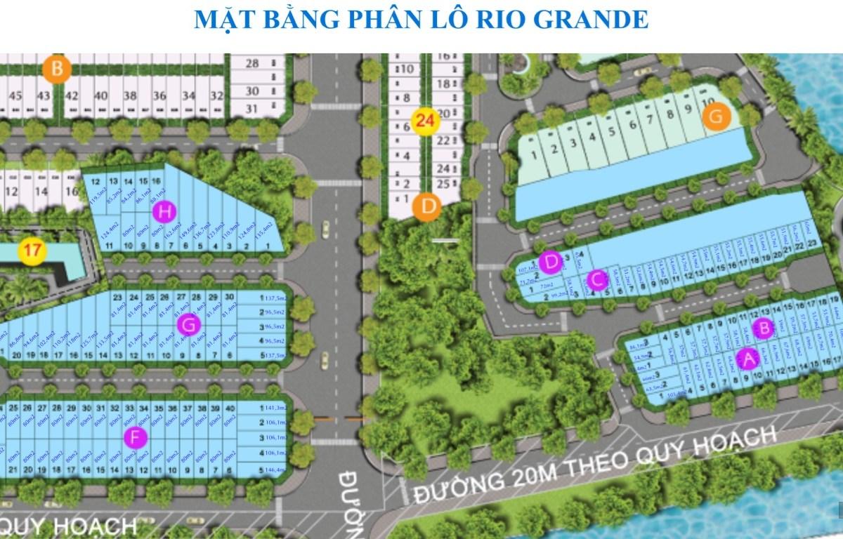 Phân lô Dự án Rio Grande