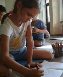scoala_batesaua_echitatie_calarie_desen