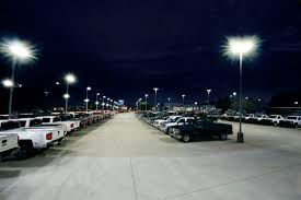Parking lot lights