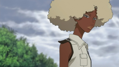 Cool afro