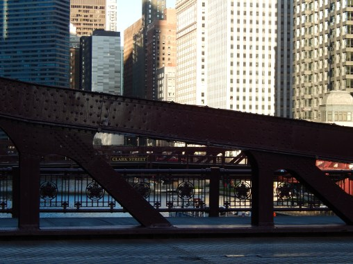 Many bridges in Chicago